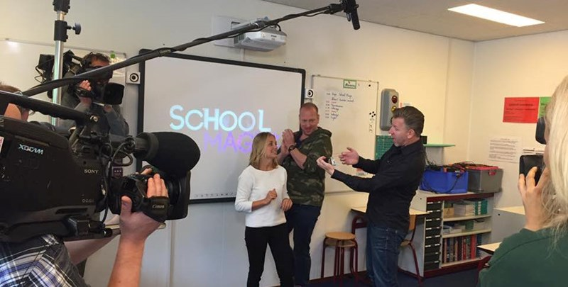 Kick-off School Magic met Rob en Emiel